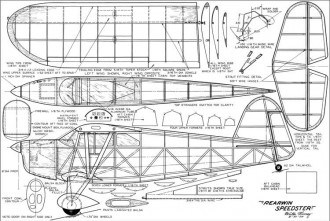 Rearwin Speedster Mooney model airplane plan