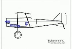 se5a-7 model airplane plan