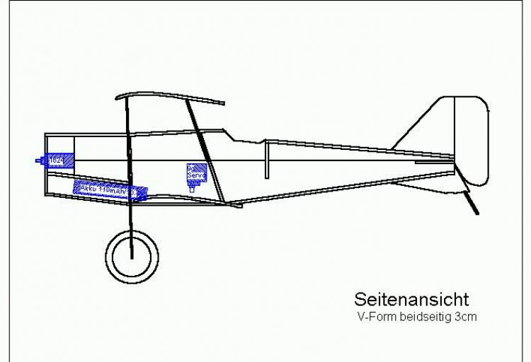 se5a-7 model airplane plan