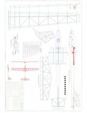sheet01 Model 1 model airplane plan