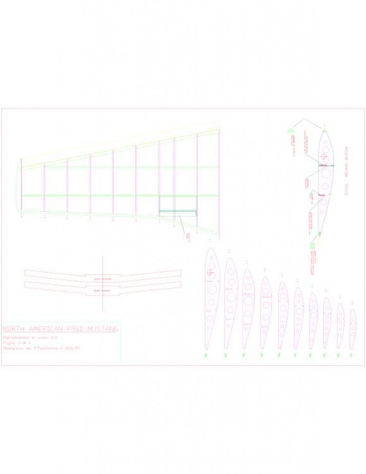 sheet03 Model 1 model airplane plan