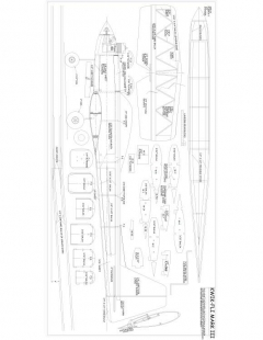 sheet 1 Model 1 model airplane plan