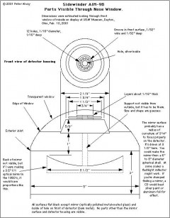sidewinder-nose model airplane plan