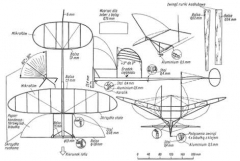 skrzydlowiec model airplane plan