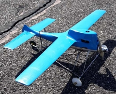 SPEED FIRE model airplane plan