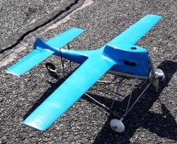 SPEED FIRE model airplane plan