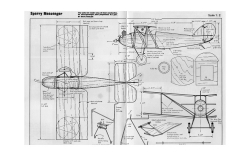 Sperry Messenger - RC Manual 4 model airplane plan