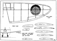 spit p1 model airplane plan