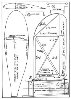 stoutp4 model airplane plan