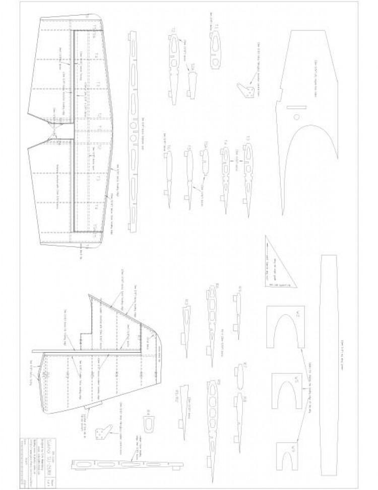 su26mx 3of4 Model 1 model airplane plan