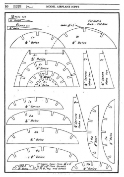 tdcoupe2 model airplane plan