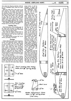 tdcoupe3 model airplane plan