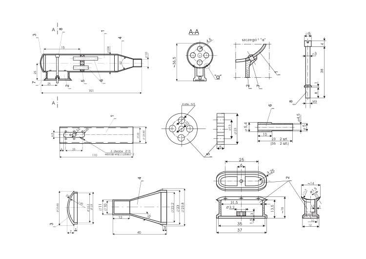 tlumik model airplane plan