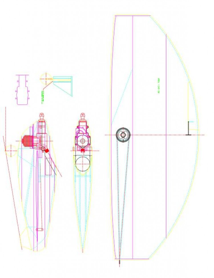 tr94 Model 1 model airplane plan