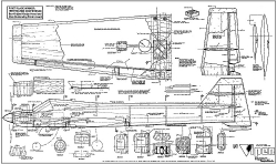 Viper model airplane plan
