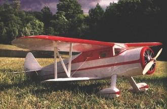 Waco-E RCM-1143 model airplane plan