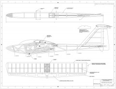 Western Slope Queen Wing Plan1 model airplane plan