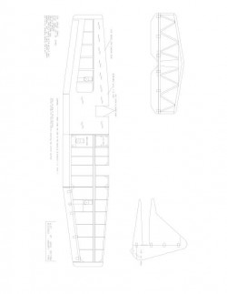 wtf6 Model 1 model airplane plan