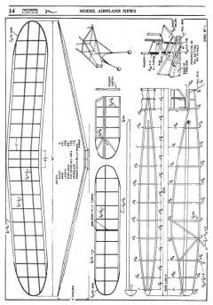 ying 1 model airplane plan