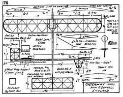 zaic57 58castaw model airplane plan