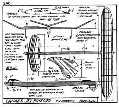 zaic59 61canard model airplane plan