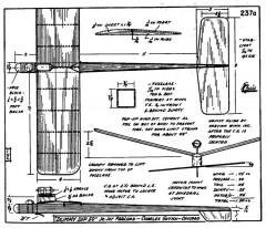 zaic59 61dummy model airplane plan