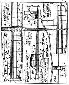 zaic59 61king model airplane plan