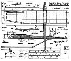 zaic59 61payl model airplane plan