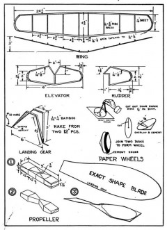 zephyr p1 model airplane plan