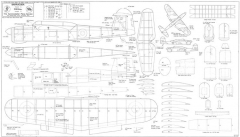 Barracuda model airplane plan