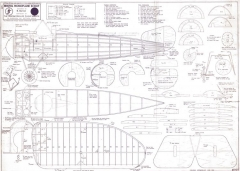 Bristol Monoplane Scout model airplane plan