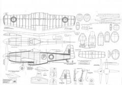 CA-15 model airplane plan
