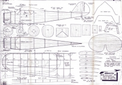 Cessna Airmaster model airplane plan