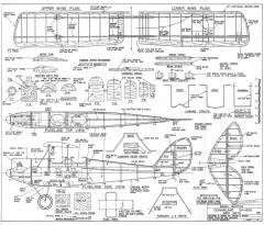 DH60 G Gipsy Moth model airplane plan