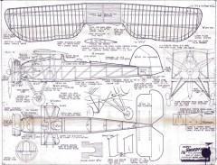 Fairey Swordfish model airplane plan