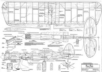 Fancy Pants model airplane plan
