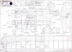 Firebrand Mk II model airplane plan