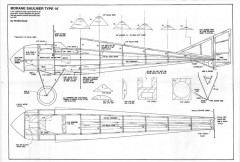 Morane-Saulnier Type N Fuselage model airplane plan