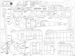 Sopwith Swallow model airplane plan