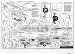 T-2 J-1 II model airplane plan