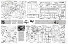 Ukkie - Jetex model airplane plan