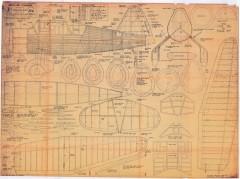 Westland Lysander model airplane plan
