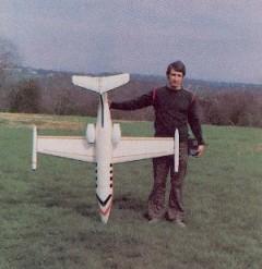 1-2A Foam Learjet model airplane plan
