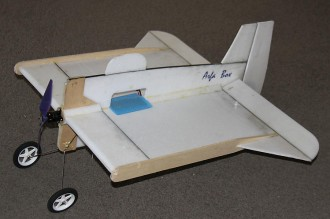 Arfa Box model airplane plan