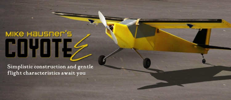 Coyote E model airplane plan