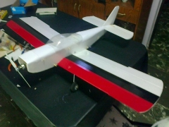 Focus FT model airplane plan