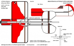 Gee Bee model airplane plan