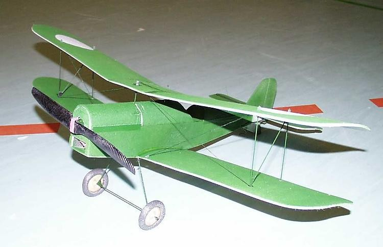 SE 5A model airplane plan