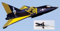 Sea Dart model airplane plan