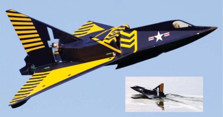 Sea Dart model airplane plan